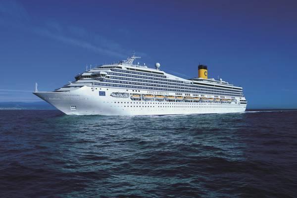 Savona, Costa Crociere: battezzata la nuova nave Costa Smeralda