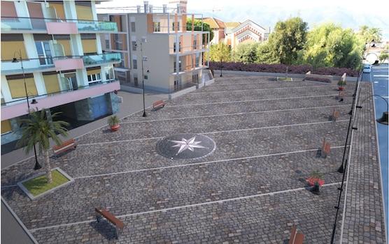 Albenga si fa bella, ecco come sarà la nuova Piazza sul Lungomare