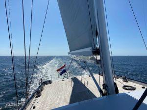 """Sea Eagle II """"Airborne"""", il più grande yacht a vela con scafo in alluminio"""