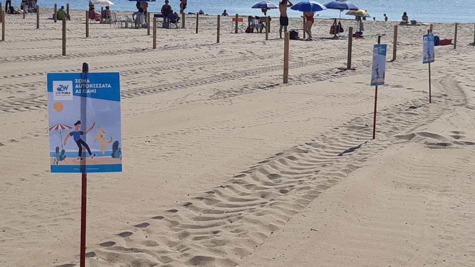 Catania, riapre la spiaggia libera n°2 con un'area per i cani
