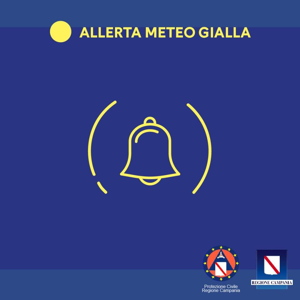 Temporali in arrivo sul Centro sud Italia, allerta gialla in Campania