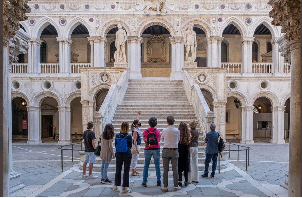 Rivedere le persone entrare aPalazzo Ducaleè una gioia per Venezia