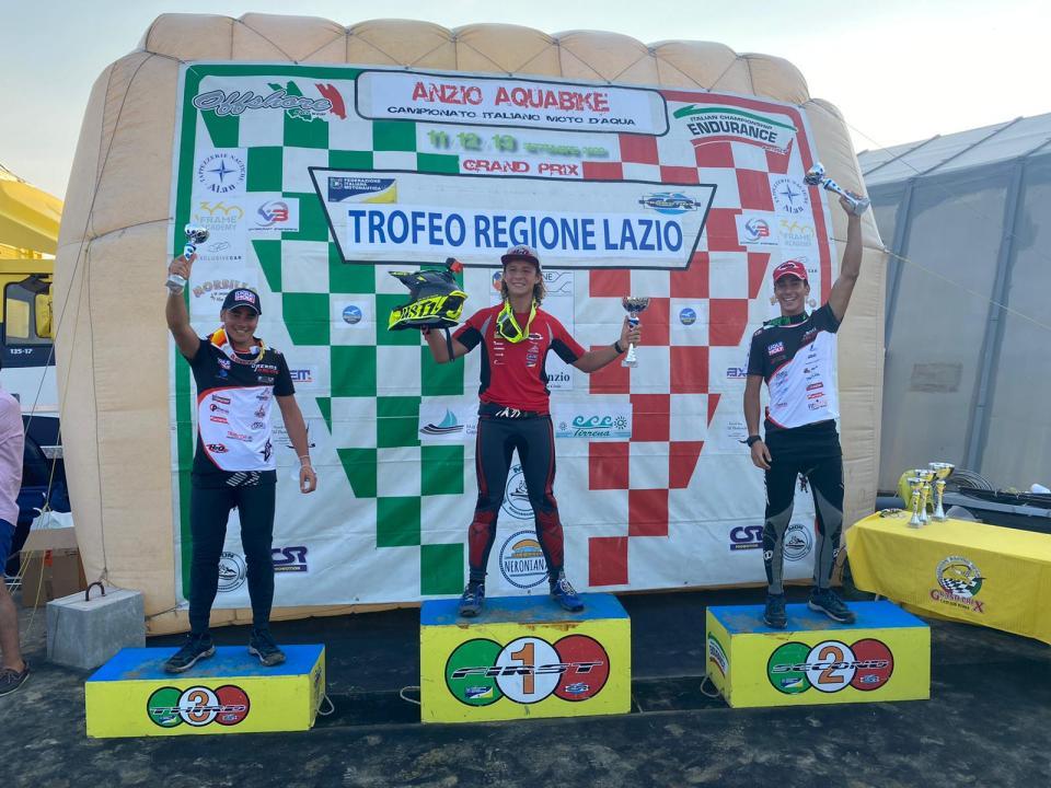 Conclusa ad Anzio la seconda tappa del Campionato Italiano Moto d'Acqua 2020