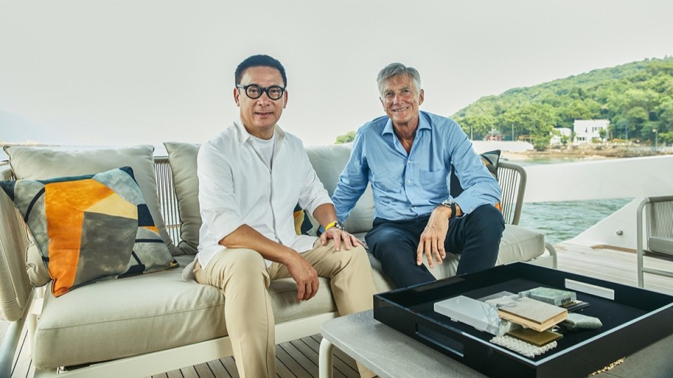 Sanlorenzo Asia e Steve Leung Design Group ampliano la loro partnership