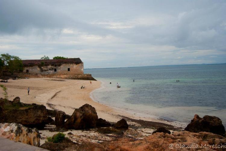 Ilha de Mozambico la spiaggia