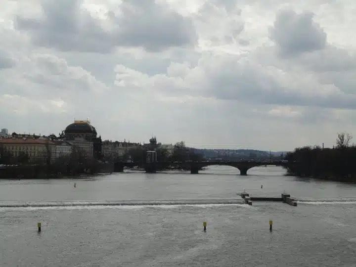 Praga, vista dal Ponte Carlo