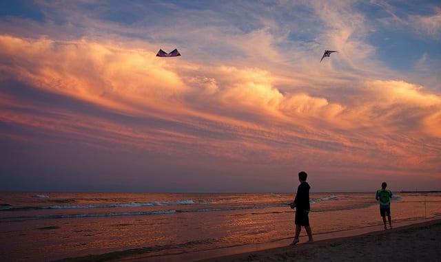 Gli aquiloni sono fatti per volare. Io... no. (foto di Lester Public Library)