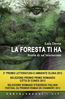 """Copertina del libro """"La foresta ti ha"""""""
