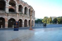 Piazza Bra e l'Arena di Verona