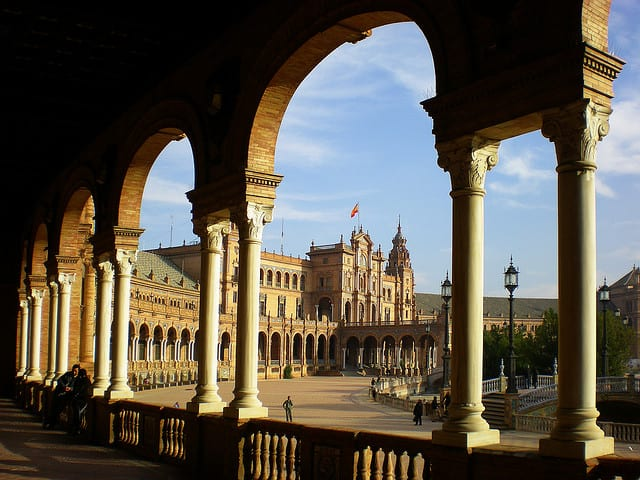 Siviglia, Piazza di Spagna (foto di Riccardo T.)