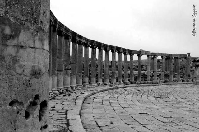 I rest romani dell'antica Gerasa, oggi Jerash