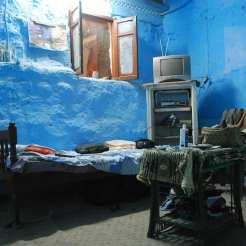 A Esna (Egitto) sono stato ospitato in una specie di scantinato da un abitante del luogo.