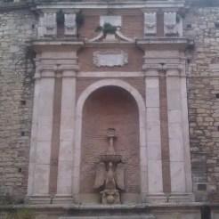 Fonte Cesia, un tributo al vescovo Angelo Cesi.