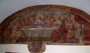 Un affresco del Monastero San Francesco.