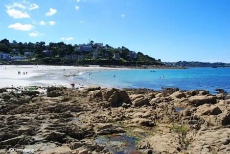 La splendida spiaggia di Trestrignel