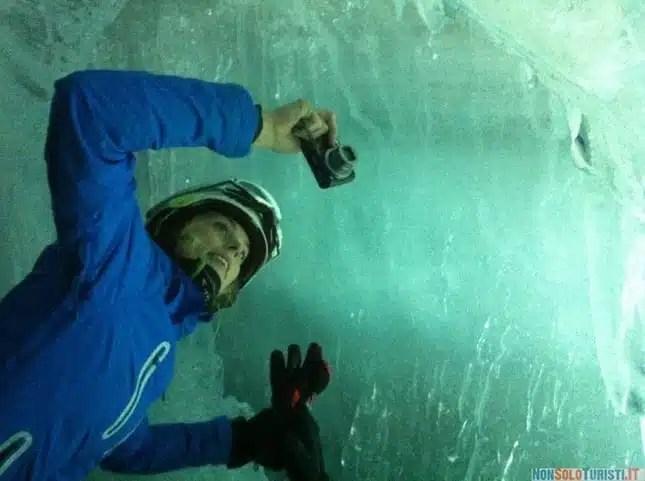 Tux, palazzo di ghiaccio a 3250 metri