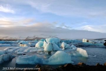 Tra i ghiacciai