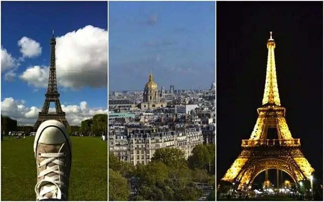La Tour Eiffel e il Parc du Champ de Mars