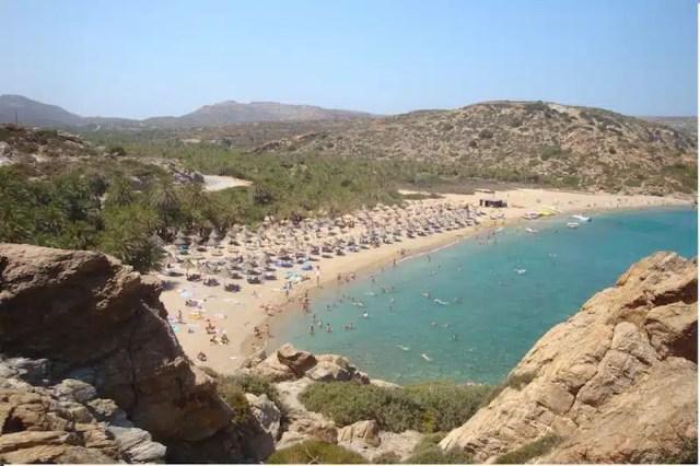 La spiaggia di Vai