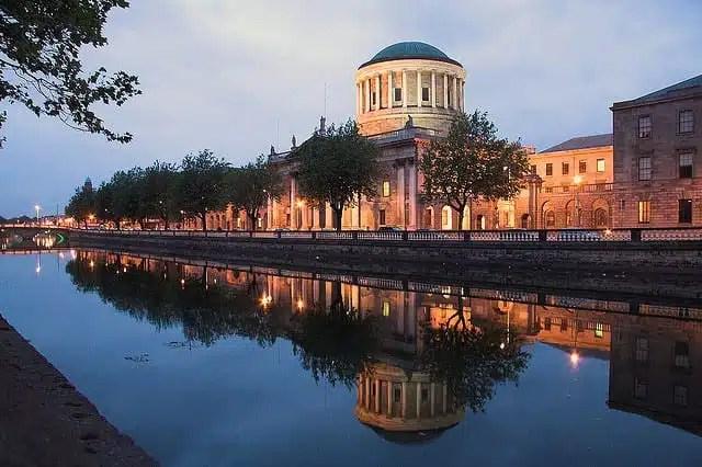 Il palazzo del tribunale di Dublino (foto di Darragh Sherwin)