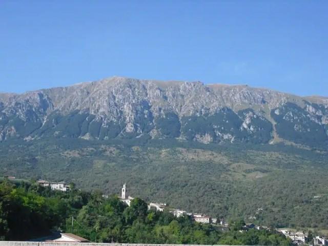 Uno splendido paesaggio abruzzese: Caramanico Terme