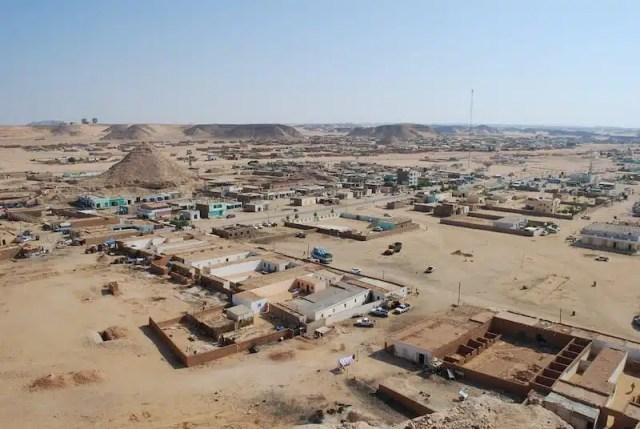 Wadi Halfa, sul confine tra il Sudan e l'Egitto