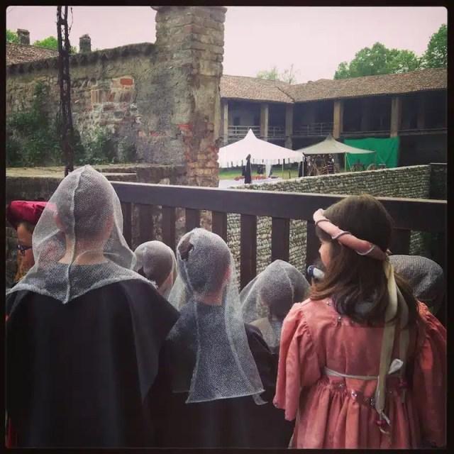 """I piccoli """"invasori"""" del Castello di Malpaga"""