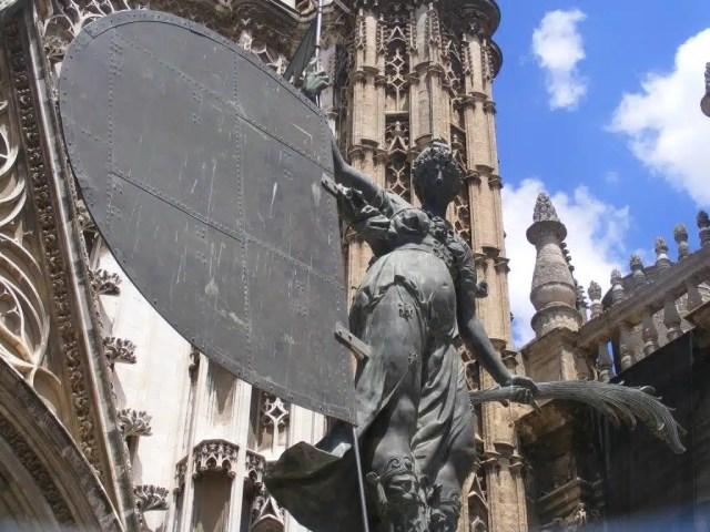 Il Giraldnho, simbolo della GIralda di Siviglia