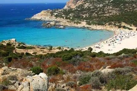 La spiaggia di Cala Cipolla