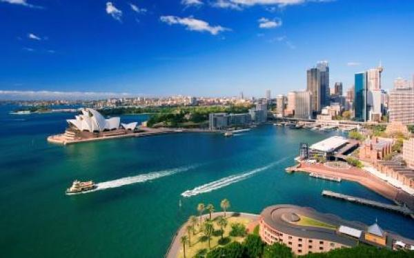 Panoramica della baia di Sydney