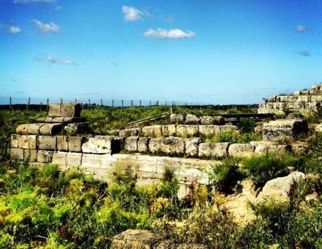 Ara della Regina, Acropoli di Tarquinia