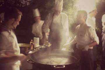 Kaiserschmarren di mezzanotte al Wine Party durante il Festival del Gusto