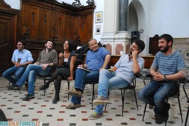Presentazione del libro Viaggio in Sicilia durante Una marina di libri, Palermo