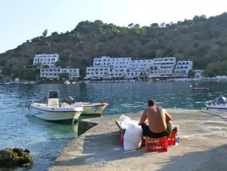 Pescatore - Loutro (Creta), Grecia