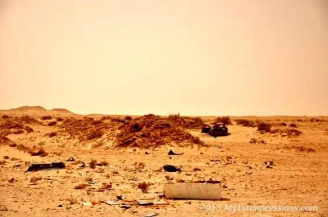 Confine tra Marocco e Mauritania