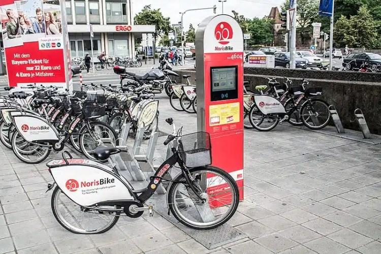 Noleggio bici - Norimberga (Germania)