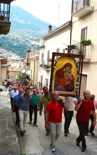 Madonna del Carmine - Civita, Calabria, Italia