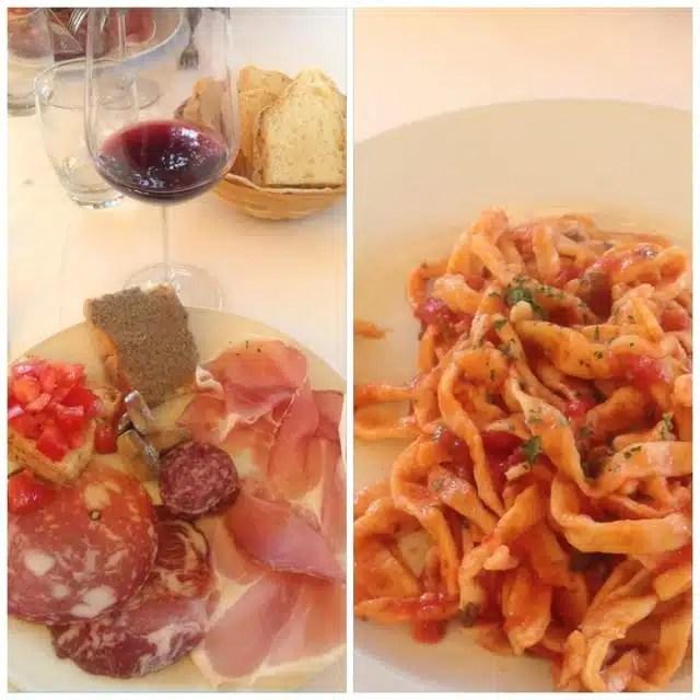 Spoleto, Umbria - cucina tipica