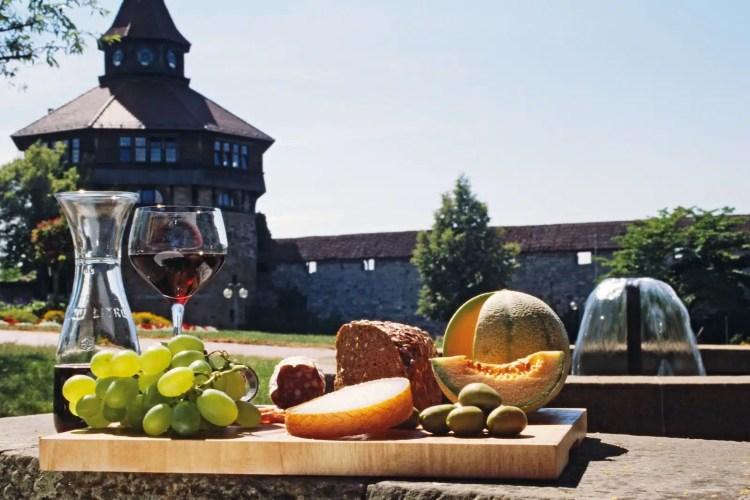 Specialità locali - Esslinger Burg, Germania