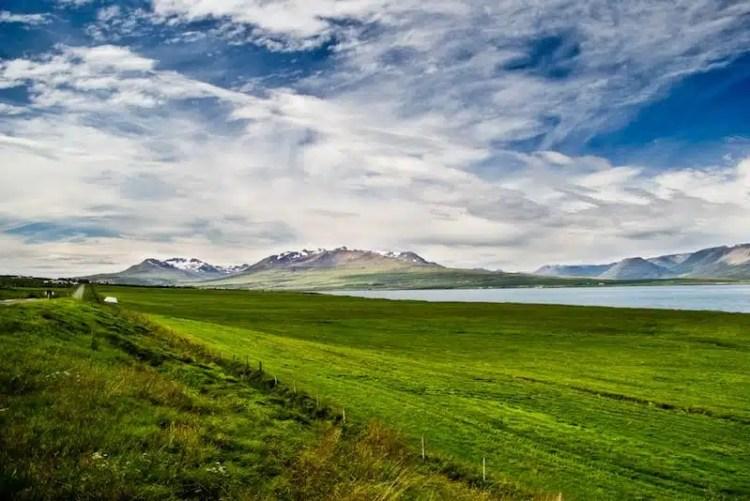 Eiyjafjördur, Islanda