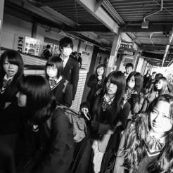 Studenti diretti a scuola - Giappone