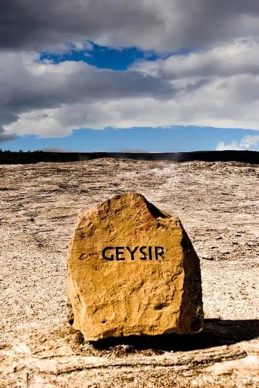 Geysir, geyser - Islanda