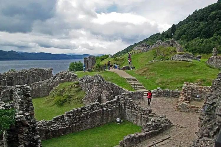 Urquhart Castle, Scozia