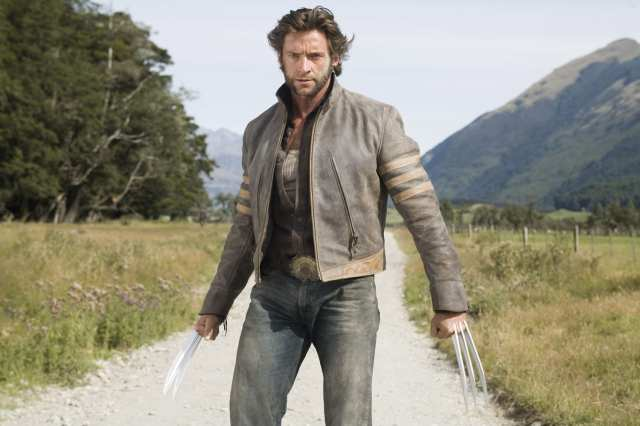 Hugh Jackman, alias Wolverine