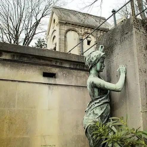 Cimitero di Père Lachaise - Parigi, Francia