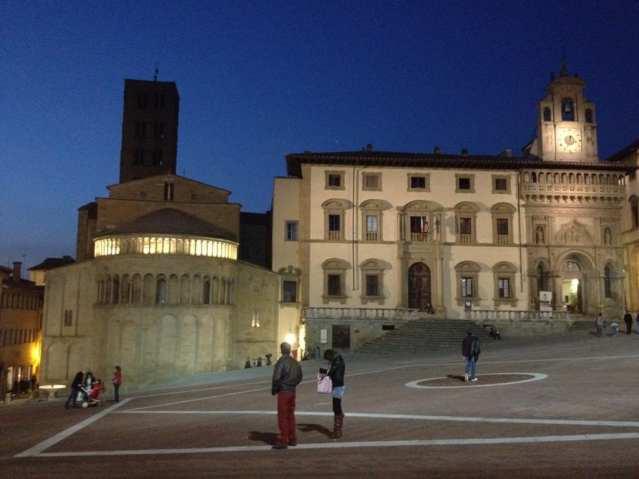 Piazza Grande - Arezzo, Toscana