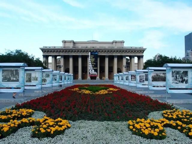 Teatro di Novosibirsk - Russia