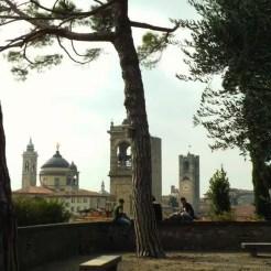 Vista dalla Rocca - Bergamo, Italy