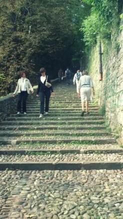 Gradinata sulle Mura - Bergamo, Italy