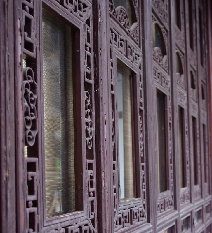 Intarsi - Suzhou, Cina